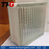 Clear Parallel Glass Brick for Builing Glass