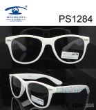 White Frame Star Patten Kid Plastic Sunglasses (PS1284)