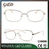 High Quality Popular Metal Optical Frame Eyeglass Eyewear 37-229