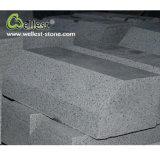 Factory Best Price G654 Sesame Black Granite Kerbstone for Road Edge