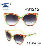 2016 New Design Plastic Sunglasses (PS1215)