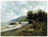 Famous Artists Oil Painting, Masterpiece Oil Painting, Landscape in Crimea (1887years) -Isaak Iliich Levitan