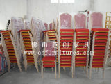 Stacking Hotel Banquet Restaurant Steel Metal Furniture Chair (YC-ZG10)