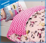 Kids Bedding Pink Scooter Cotton Duvet Cover Set