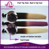 Ombre Colors Keratin Flat Top Hair