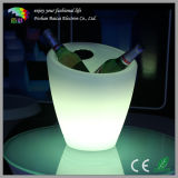 LED Lighted Plastic Ice Bucket for Serving Drinks Bcr-922b