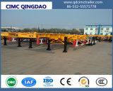 Cimc 40/45FT 3-Axle Gooseneck Skeleton Container Trailer Chassis