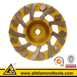 Tornado Diamond Grinding Cup Wheel for Concrete