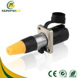 Low Frequency 5-15A Portable Male to Female Terminal Block Wire Electrical Adapter
