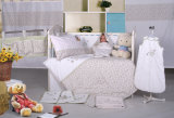 Baby Crib 8-Piece Bedding Set (QR5629)