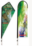 Flying Banner Teardrop Banner Different Base Are Avaliable Advertising Display