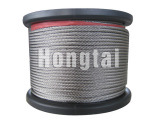 "5/32"" (4.0mm) 7x19 AISI 316 Stainless Steel Strand Wire Rope and Cables"