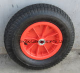 Solid Rubber Wheel with Steel Rim