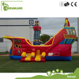 Interesting Customized Interesting Inflatable Bouncer Pirateship for Kids