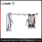 Gym Equipment Multi Jungle 5 Stacks / Crossfit Rig / Power Rack / 5 Cable Jungle & Crossove Tz-6042