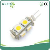 Chandelier LED Lights 9SMD5050 AC/DC12V 4000k G4 LED