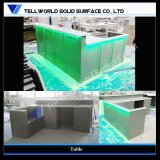 Corian Acrylic Solid Surface Kitchen BBQ Style Bar Counter (TW-MACT-198)