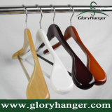 Deluxe Suit Wooden Clothes Hanger for Man, Multi Color Optional