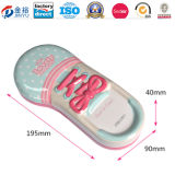 Irregular Shoe Shaped Gift Tin Box for Pen Pencil Case