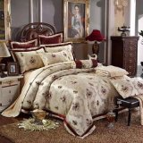 Super Soft Velour & 3D Yarn-Dyed Jacquard &Comforter 8 PCS Set (SH16006-2)