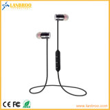 Metal Magnetic Adsorption Wireless Bluetooth Headphone Mobile Phone Handsfree