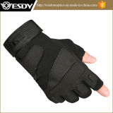 3 Colors Tactical Military Half-Finger Airsoft Hunting Riding Cycling Gloves