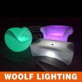 Hot Sale a Couple of Person LED RGB Sofa