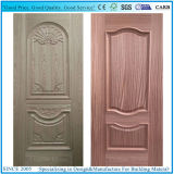 New Design Convex Line Moulded Wood Painting Venner HDF Door Skin (HDFS-NEW2)