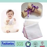 Small Muslin Square Washable Cotton Baby′s Face Towels