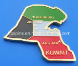 Kuwait Metal Fridge Magnet for National Day Gifts