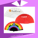 PVC Hand Fan with Logo for Promotion Hf-1001