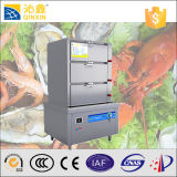 380V Stainless Steel Multi-Functional Commercial Induction Steamer