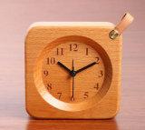 Novel Nature Wooden Alarm Clock