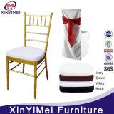 Hotel Hot Sale Gold Chiavari Chair with Seat Cushion