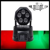 5PCS*15W RGBWA LED Mini Moving Head Wash Light