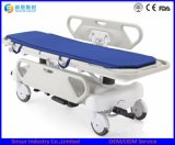 Electric with Guardrail Emergency Hospital Transport Stretcher