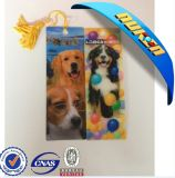 Custom Design Lovely Dog Bookmarks with Strong 3D