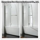 New Style Frameless Simple Shower Room/Shower Bath Tub Screen with Hinge
