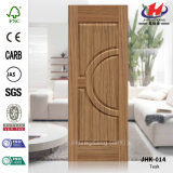 Office Half Round Teak Veneer Door Skin
