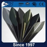 Charcoal Metallic Reflective Glass Tinted Film for Car Window