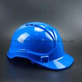 Ventilation Shell Blue Color Safety Helmet HDPE Helmet (SH501)
