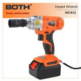 4.0ah Li-ion Power Tools Impact Wrench (HD1612B)
