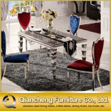 Hot Selling Good Quality Stainless Steel Dining Table and Chair