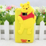 Lovely 3D Cartoon Silicon Bumper Phone Cover/Case for Samsung/iPhone 6g