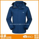 Men′s 3 in 1 High Quality Waterproof Warm Winter Sport Jacket