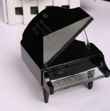 Hot Sale Black Crystal Piano Crystal Model for Souvenir