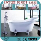 European Style White Acrylic Soaking Bathtub (620)