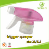 28/415 Ribbed Closure Cleaning Trigger Sprayer Pump for Bottles
