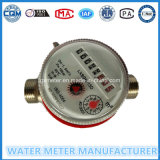 Single Jet Dry Dial Register Type Water Meter