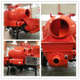 Diesel Power Concrete Pump with Mixer with 30 Cubic Meters Per Hour Capacity